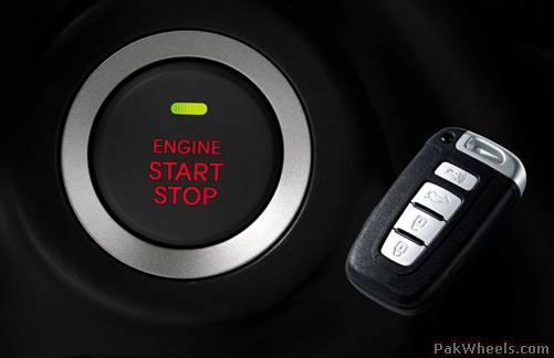 Запуск двигателя авто